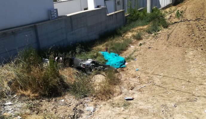 Moto si schianta contro muro, muore 32enne ad Alba Adriatica