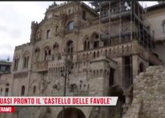 Quasi pronto il giardino del 'Castello delle favole'