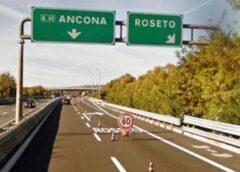 Lavori in galleria A14, chiude il tratto Giulianova-Roseto